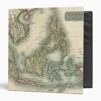 East India Isles 3 3 Ring Binder