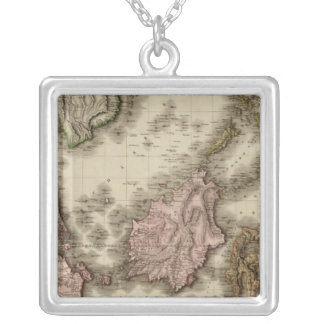 East India Isles Silver Plated Necklace