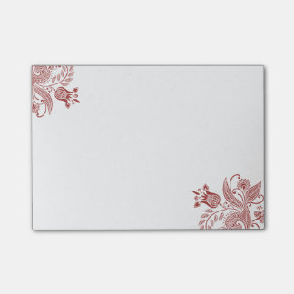 East Indian Flowers - Post-it Notes