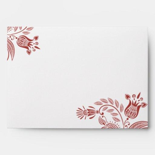 East Indian Pattern Envelope