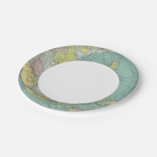 East Indian ports Paper Plate