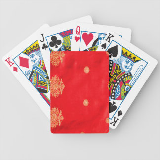 EAST INDIAN SILK DECK OF CARDS