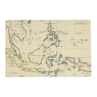 East Indies Laminated Place Mat