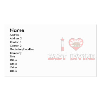 East Irvine, CA Business Card Templates