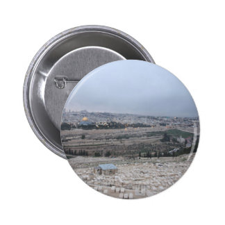 East_Jerusalem_from_the_Mount_of_Olives Pinback Buttons