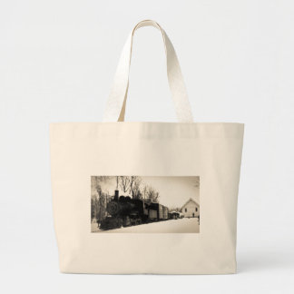 East Jordan & Southern Railroad Engine #6 Large Tote Bag