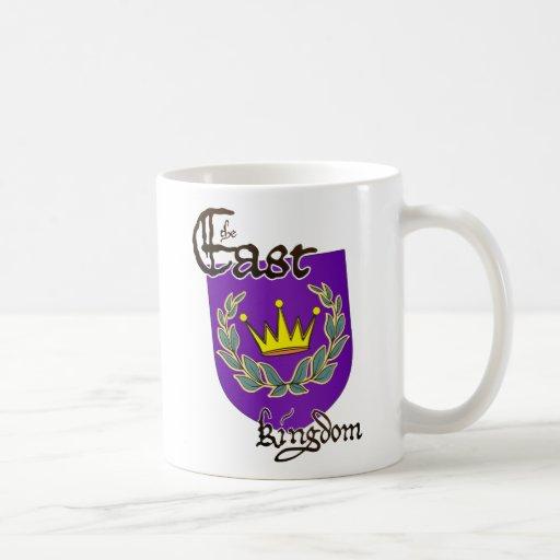 East Kingdom Device w/ text  Mug