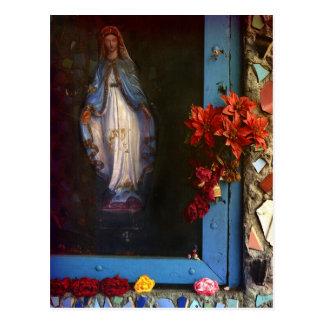 East LA Mary Postcards
