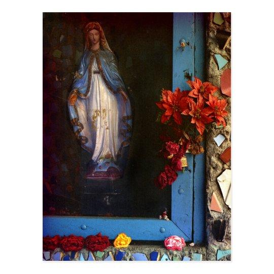 East LA Mary Postcard