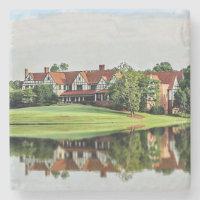 East Lake Golf Club, Club house, Decatur Georgia Stone Coaster