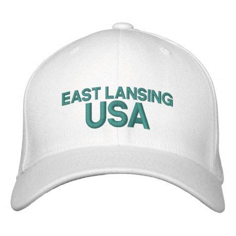 East Lansing USA Cap