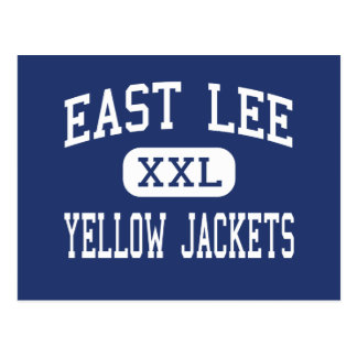 East Lee Yellow Jackets Middle Sanford Postcard