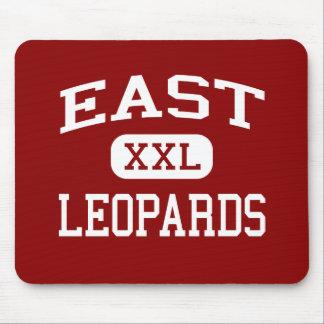 East - Leopards - High - Salt Lake City Utah Mouse Mat