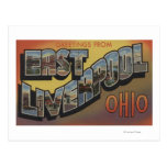 East Liverpool, Ohio - Large Letter Scenes Post Cards