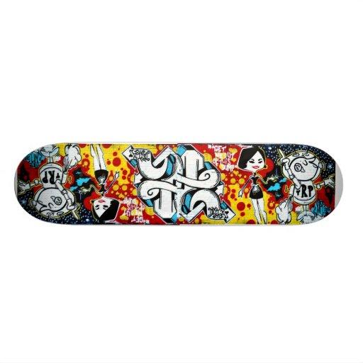 East London Stick Up Skateboard