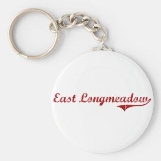 East Longmeadow Massachusetts Classic Design Keychains