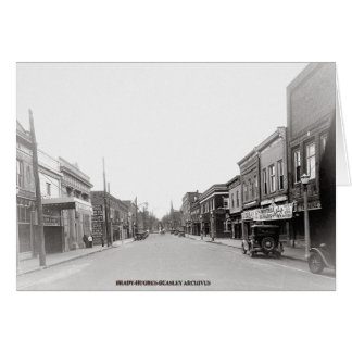 East Main Street-McMinnville Tennessee Circa 1930 Greeting Card