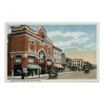 East Main Street View of the American Theatre Print