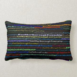 East Marlborough Township TextDesgnI Lumbar Pillow