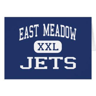 East Meadow - jets - alto - East Meadow Nueva York Tarjeta De Felicitación