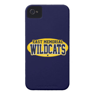 East Memorial Christian Academy; Wildcats Case-Mate iPhone 4 Case