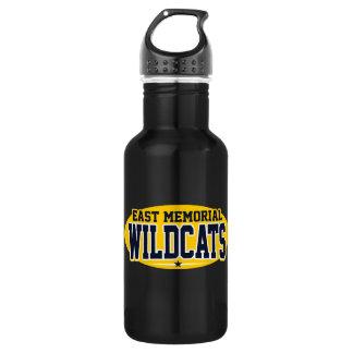 East Memorial Christian Academy; Wildcats Stainless Steel Water Bottle