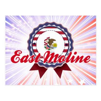 East Moline, IL Postcard