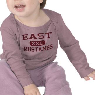 East - Mustangs - High School - Memphis Tennessee Shirts