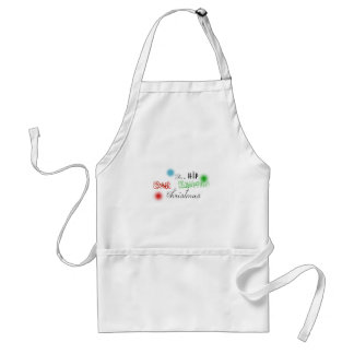 East Nashville Customized Christmas Decal Adult Apron