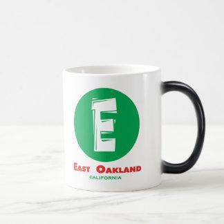 East Oakland 11 Oz Magic Heat Color-Changing Coffee Mug