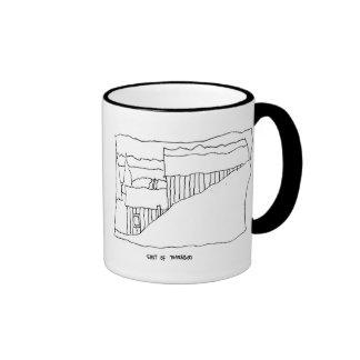 East of Baraboo Ringer Coffee Mug