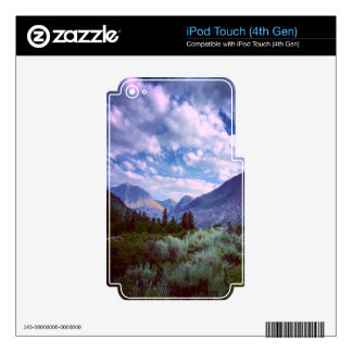 East of Yosemite iPod Touch 4G Decals