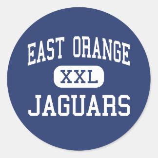East Orange - Jaguars - Campus - East Orange Round Stickers