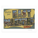 East Palestine, Ohio - Large Letter Scenes Post Cards