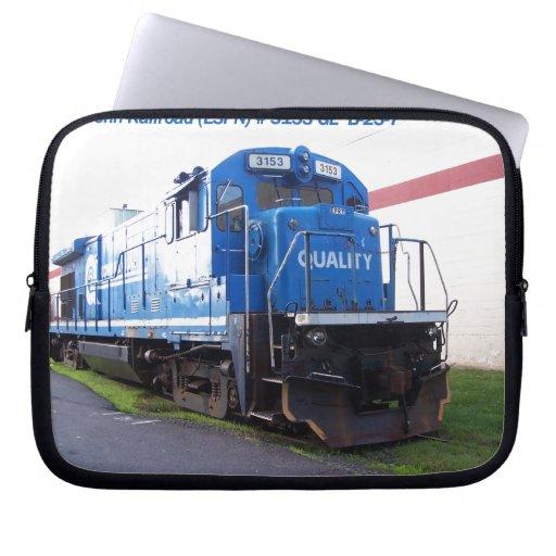 East Penn Railroad Locomotive #3153 Laptop Sleeve