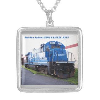 East Penn Railroad Locomotive #3153 Necklace