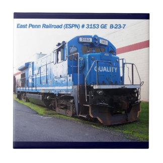 East Penn Railroad Locomotive #3153 Tile