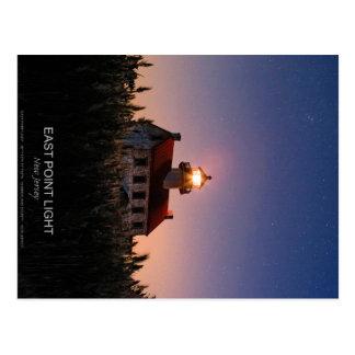 East Point Lighthouse. Postcard