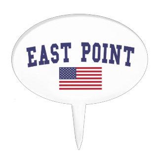 East Point US Flag Cake Topper