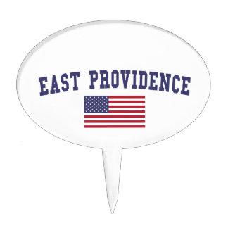 East Providence US Flag Cake Topper