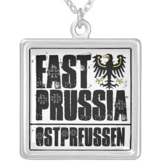 East Prussia Silver Plated Necklace