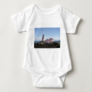East Quoddy Lighthouse Baby Bodysuit
