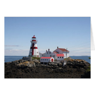 East Quoddy Lighthouse Card