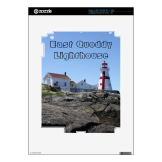 East Quoddy Lighthouse iPad 2 Skin