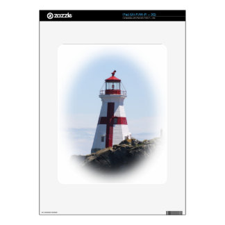 East Quoddy Lighthouse iPad Decals