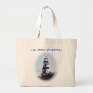 East Quoddy Lighthouse Large Tote Bag