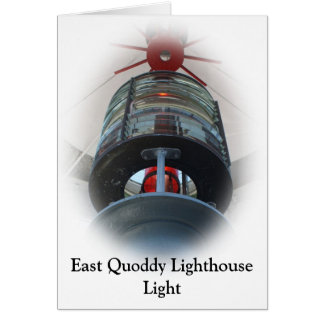 East Quoddy Lighthouse Light Card