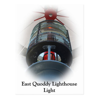 East Quoddy Lighthouse Light Postcard