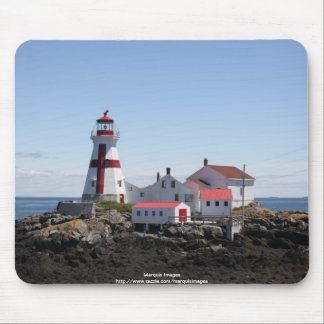 East Quoddy Lighthouse Mouse Pad