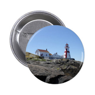 East Quoddy Lighthouse Pinback Button